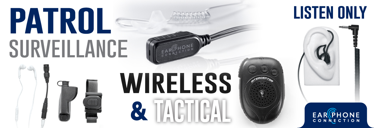 patrol wireless communication devices