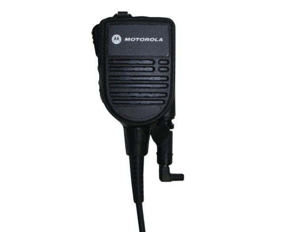 M11 Plugged into Motorola Speaker Mic