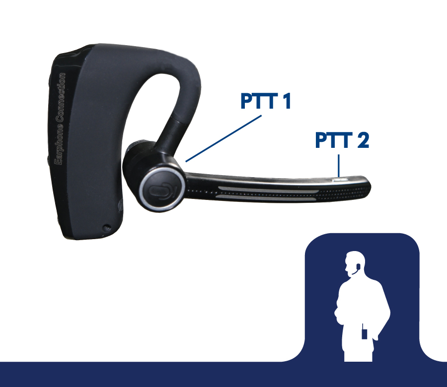 E2 Bluetooth Headset for POC