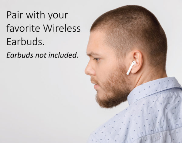 Air Pro Wireless Pair-With-Earbuds
